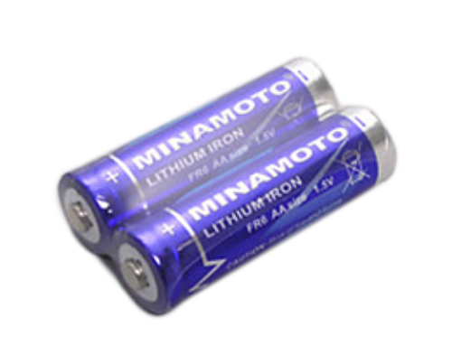 Special promotion for high performance 1.5V, AA primary battery.